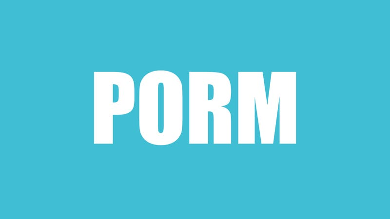 Illustration for article titled Porm