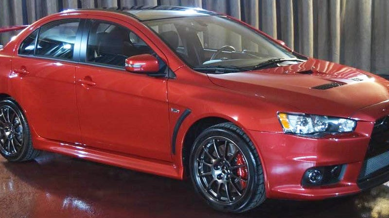 The First Of The Last Mitsubishi Lancer Evos Costs A Rage-Inducing $88,888 (Updated)