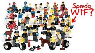 Illustration for article titled Forbidden Set Shows Darkest Side of LEGO