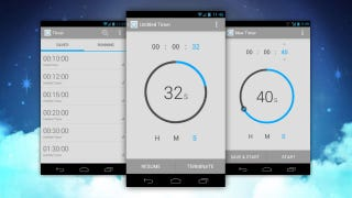 Illustration for article titled Timer for Android Is the Most Elegant and Functional Timer We've Ever Seen