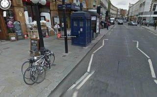 Illustration for article titled TARDIS on Google Maps