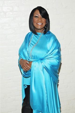 Patti LaBelle in turquoise to support the American Lung Association's Lung Force initiative at the Mercer Hotel in New York City Nov. 4, 2015Cindy Ord/Getty for the American Lung Association's Lung Force