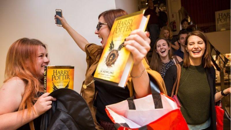 El guión de 'Harry Potter y el legado maldito' se puso a la venta a finales de julio. Imagen: Getty