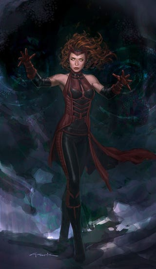 309b0322338 Elizabeth Olsen Thinks Scarlet Witch Needs a New Costume, and She's ...