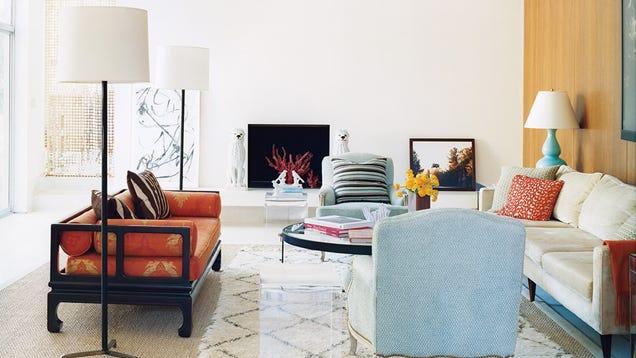 Arrange furniture and art low to make a room look bigger - App for arranging furniture in a room ...