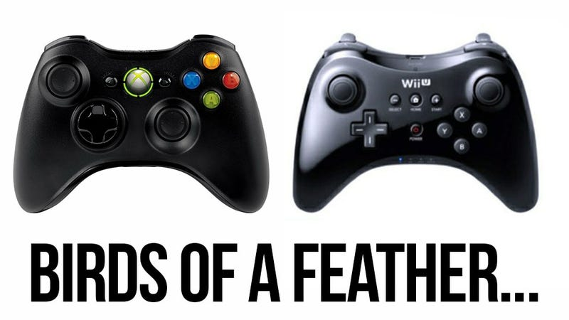 Illustration for article titled The Wii U Hardcore Controller Looks Familiar