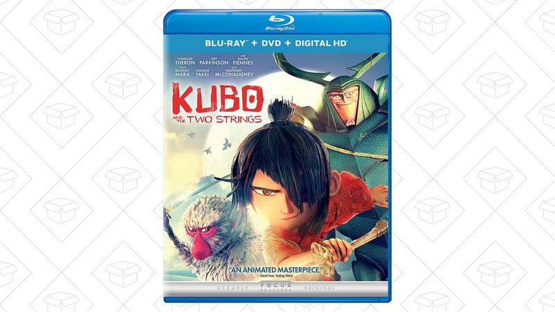 Kubo and the Two Strings (Blu-ray + DVD + Digital HD), $15