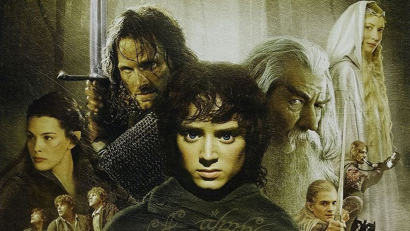 'The Lord Of The Rings' characters.