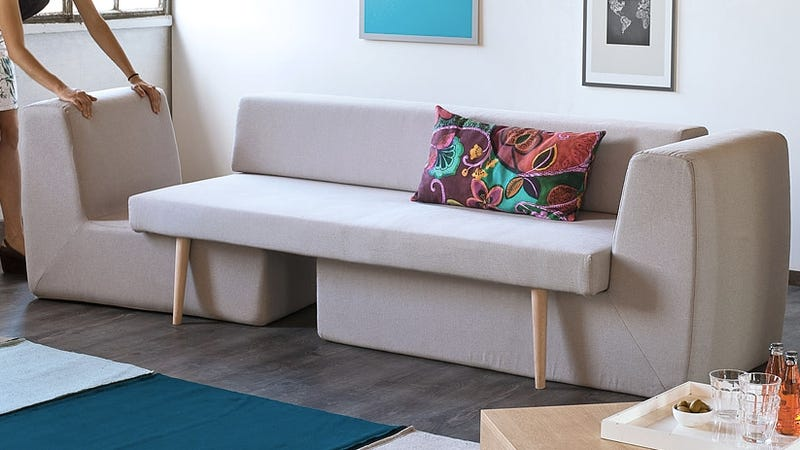 This Single Sofa Becomes A Full Living Room Set In Seconds