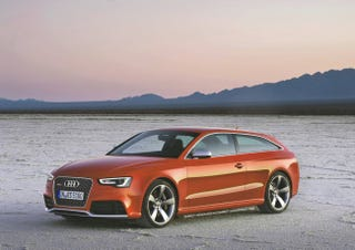 Illustration for article titled Is Audi Considering an RS5 Shooting Brake and a Minivan?