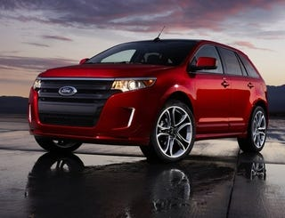 Illustration for article titled 2011 Ford Edge: There's Only So Many Ways To Re-Skin A Jellybean
