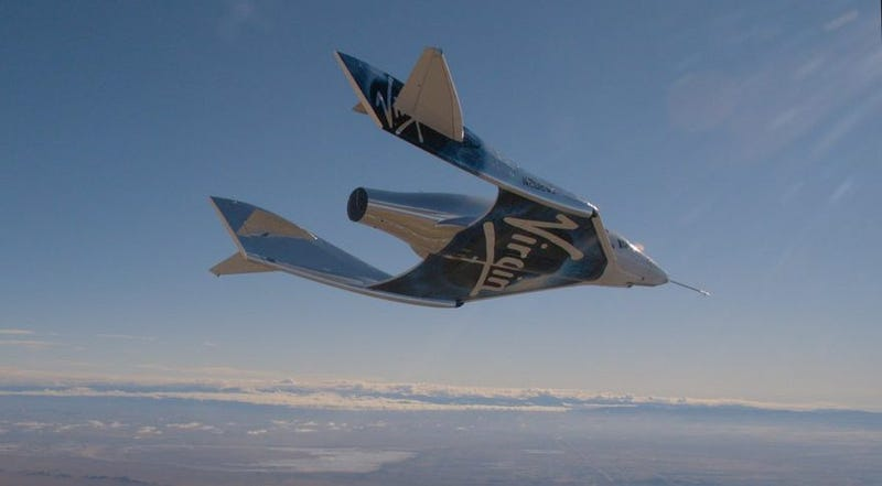 VSS Unity, Virgin Galactic's second incarnation of SpaceShipTwo.