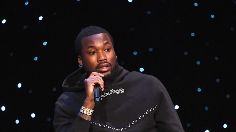 Meek Mill speaks onstage during the launch of The Reform Alliance on January 23, 2019 in New York City.