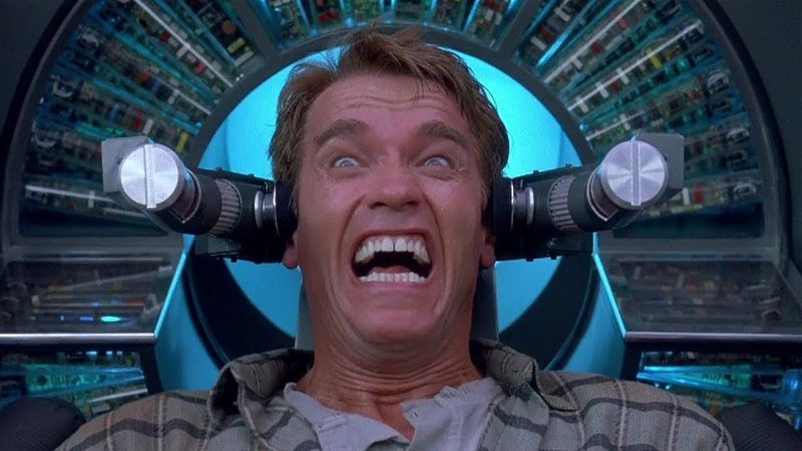 With Total Recall, Schwarzenegger got to blow things up and