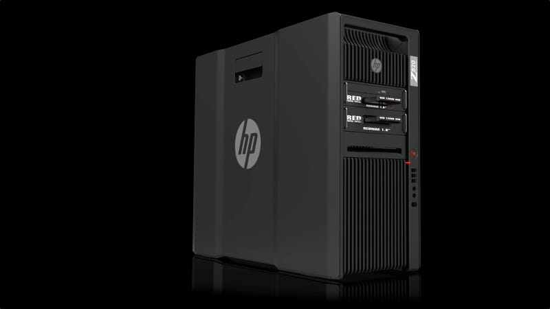 Illustration for article titled HP Builds a Supercharged Video Editing Machine Worthy of RED Cameras