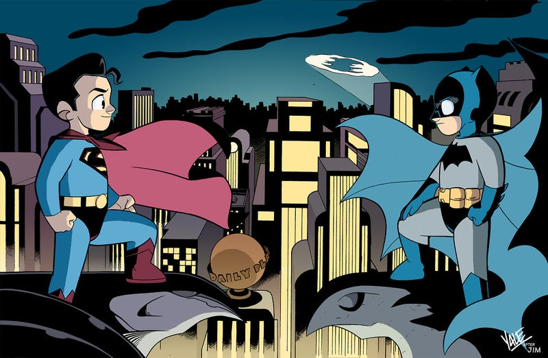 Illustration for article titled JL8 creator Yale Stewart is writing a series of Superman kids' books
