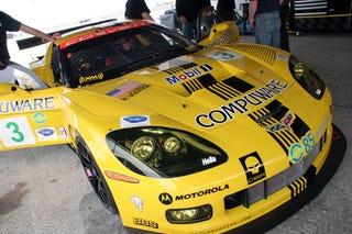 Illustration for article titled New Corvette C6R Livery For 2008 ALMS Season Revealed By Badboy Vettes
