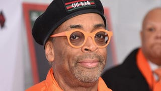 Director Spike Lee attends the New York premiere of Chi-raq on Dec. 1, 2015, at the Ziegfeld Theatre in New York City.Gary Gershoff/Getty Images