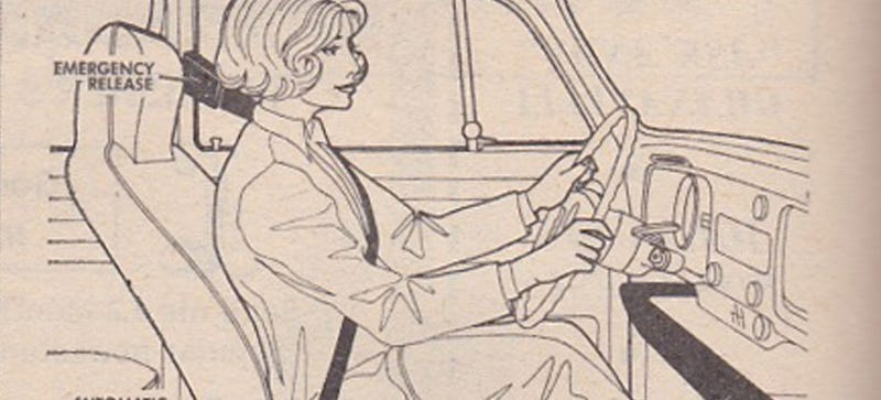 Illustration for article titled I Had No Idea VW Invented Automatic Seatbelts