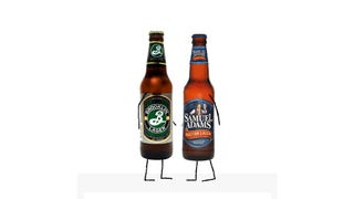 Beer Smackdown! Samuel Adams Boston Lager Vs. Brooklyn Lager