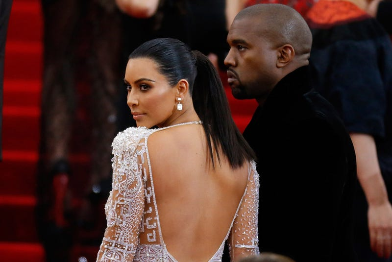 Kim Kardashian and Kanye West (John Lamparski/Getty Images)