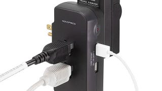 Illustration for article titled Monoprice Mini Surge Protector Is a Great Gadget Travel Companion
