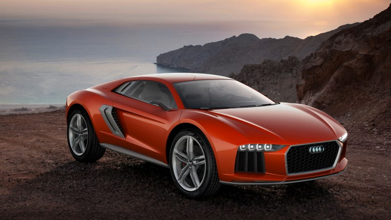 Illustration for article titled The Audi Nanuk Quattro Concept Is A V10 Diesel Offroading Demon