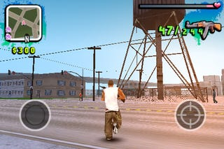 Illustration for article titled Gangstar Preview: Very Much Like GTA On An iPhone