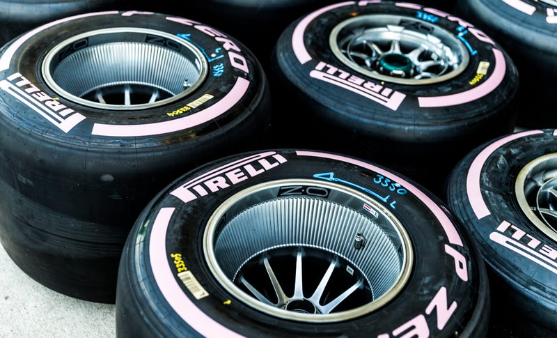 Pirelli's Breast Cancer awareness tires from the U.S. Grand Prix this year were such a hit, pink tires are coming back for 2018. Photo credit: Kurt Bradley