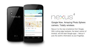 Illustration for article titled T-Mobile Will Sell the Sold Out Nexus 4 for 200 Bucks Tomorrow