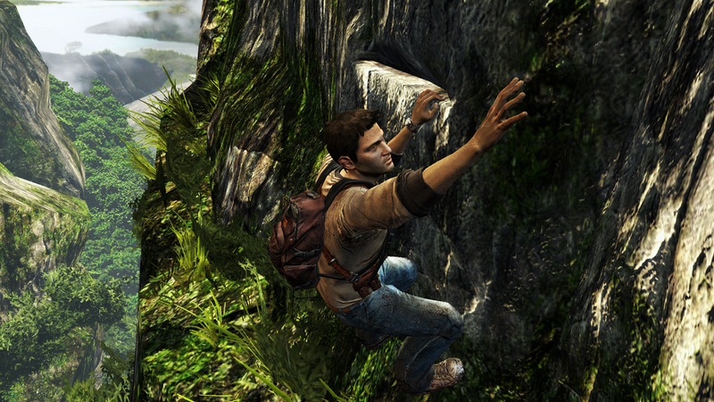 Illustration for article titled Lara Croft, Ezio & Nathan Drake Are Actually Terrible At Climbing
