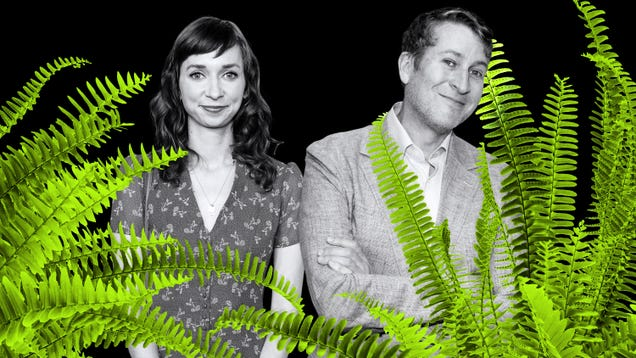 Scott Aukerman and Lauren Lapkus made up the Between Two Ferns movie as they went along