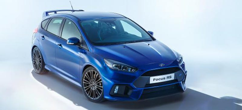 Illustration for article titled 2016 Ford Focus RS: This Is It
