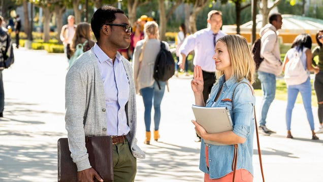 The Good Place s Season 3 Premiere Has a New Student: The Audience