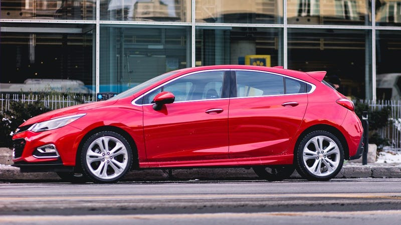 The 2017 Chevy Cruze Hatchback This Is It Jalopnik