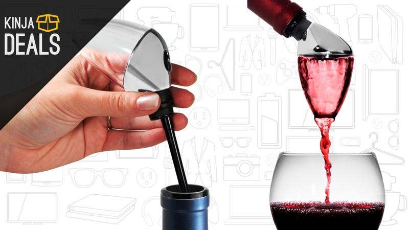 Illustration for article titled Make Your Wine Taste Better With This $12 Aerator