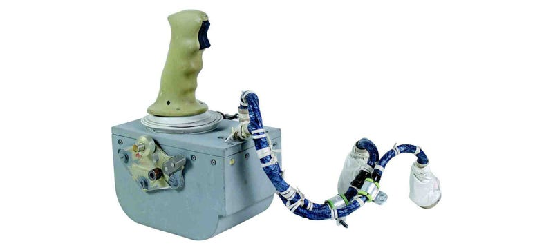 Illustration for article titled You Could Own This Joystick That Landed Astronauts on the Moon