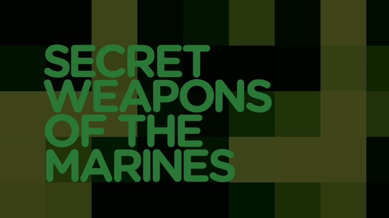 "Illustration for article titled What's the Marines New ""Highly Classified"" Secret Weapon?"