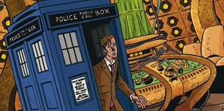 Illustration for article titled Doctor Who Tries On Multiple Generations In Exclusive Preview