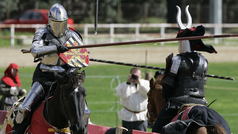Illustration for article titled After Only 1,000 Years, Jousting Competitions Open to Female Knights