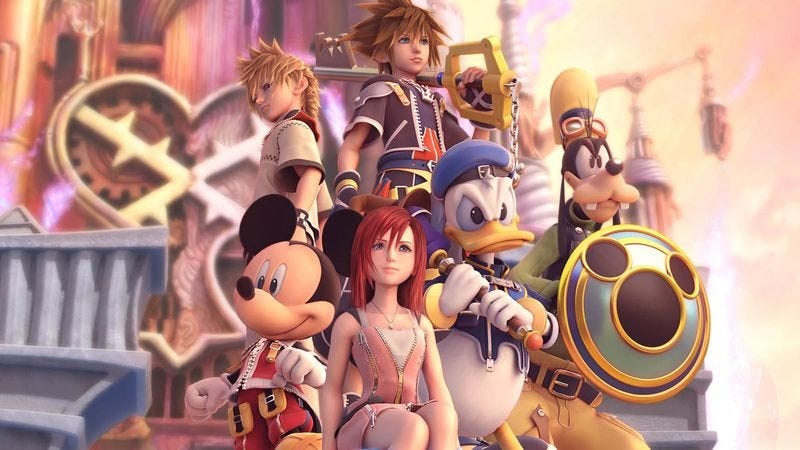 Illustration for article titled Kingdom Hearts gets the emotions flowing from readers of a certain age