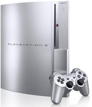 Illustration for article titled PS3 Gets Satin Silver Makeover in Japan