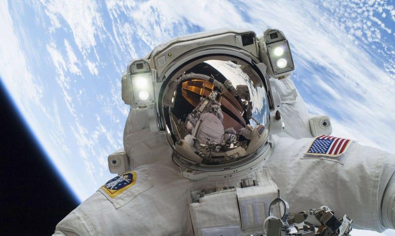Illustration for article titled Cómo pueden rascarse la nariz los astronautas durante una caminata espacial
