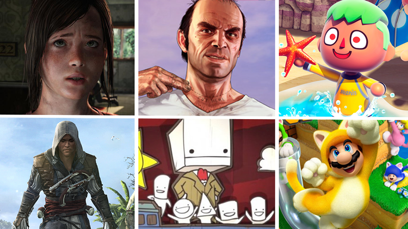 Illustration for article titled ​Tina's Top 10 Games of 2013