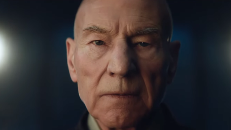 Patrick Stewart returns as Jean-Luc Picard.