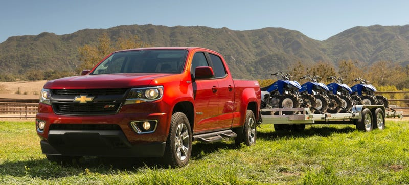 Illustration for article titled The 2016 Chevy Colorado And GMC Canyon Diesels Are The Most Fuel-Efficient Trucks You Can Buy