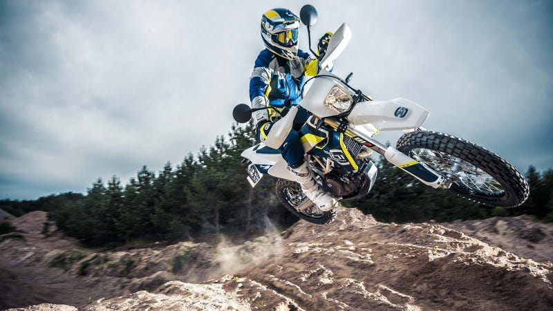 Illustration for article titled The Husqvarna 701 Supermoto Is Getting A Brother And It Wants To Get Dirty