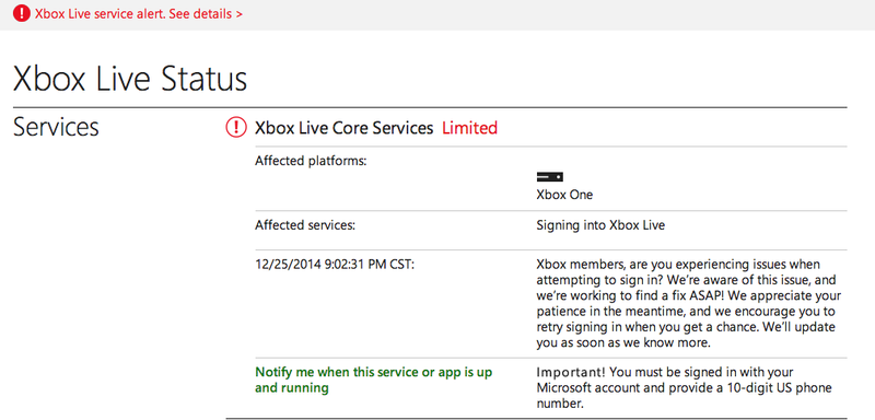Xbox Live And PlayStation Network Knocked Offline For Much