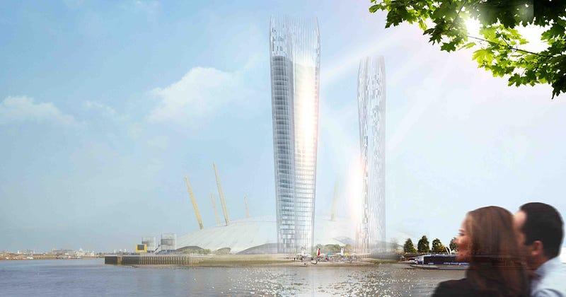 Illustration for article titled Diseñan un rascacielos para Londres que casi no proyecta sombra