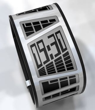 Illustration for article titled TokyoFlash's E-Ink E-Clock